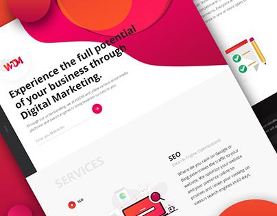 Website Design - W2DM