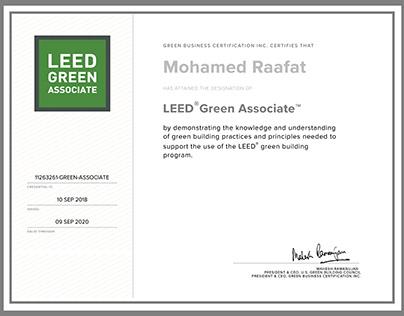 USGBC - LEED Green Associate