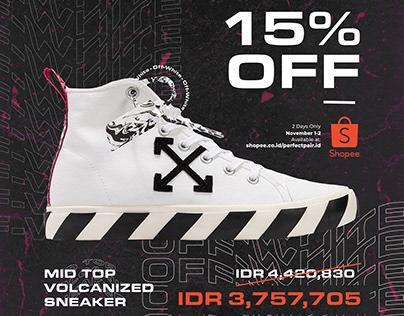 Social Media Post for Sneaker