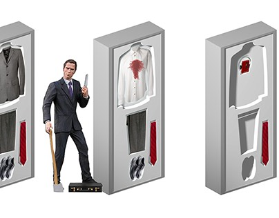 American Psycho the Musical | Closet Design