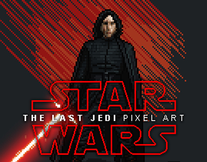 The Last Jedi Pixel Art