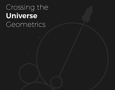 Crossing The Universe Geometrics | T-Shirt Design