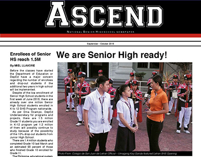 ASCEND | Newspaper