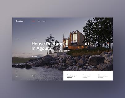 Baroque - Architecture & Interior Studio Website
