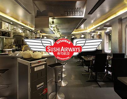 Sushi Airways Sushi Bar 寿司航空 (Singapore)