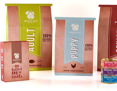 Wagging Tails - Packaging Design