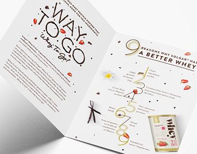 Whey To Go Brochure