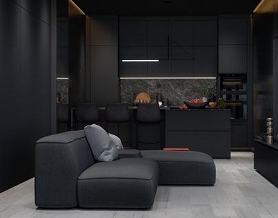 2-room apartment 60 M²
