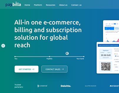 Paybilla - website