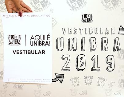 Vestibular UNIBRA 2019
