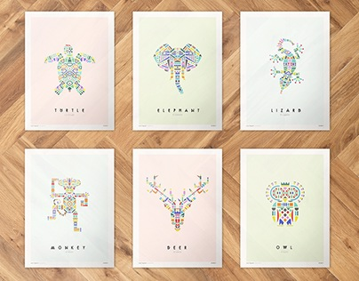 Zoo-logical Collection Art Work