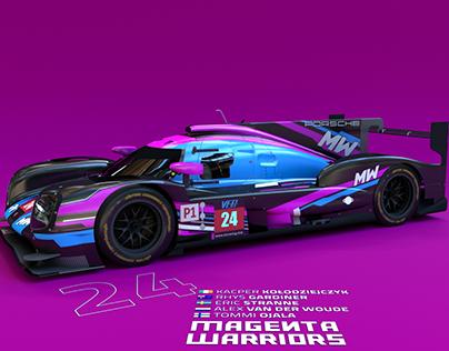 VEC 2017-2018: Magenta Warriors LMP1 Porsche 919