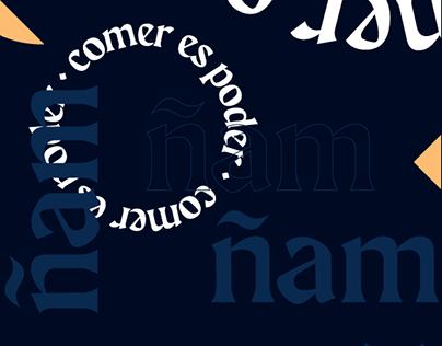 ñam ñam - branding