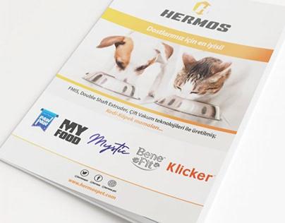 Hermos Pet   Katalog Tasarımı   Catalog Design
