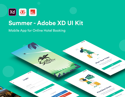 Summer - Adobe XD UI Kit