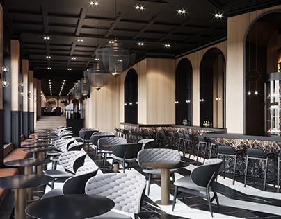 Restaurant-Balkan Hotel, Belgrade