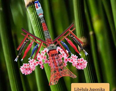 Insecte Japonais-Libélula Japonika