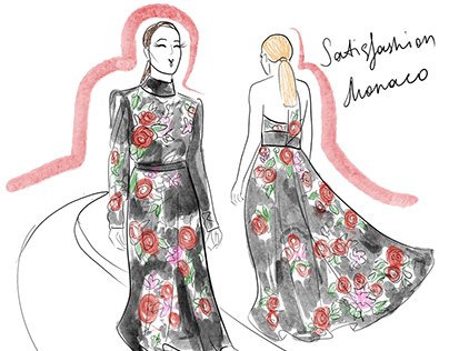 Illustrated report for Satisfashion Monaco