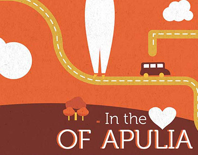 In the heart of Apulia - map