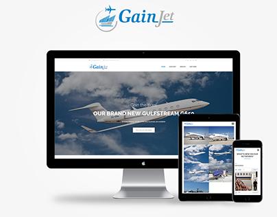GainJet - New website