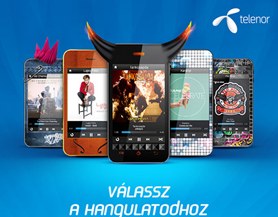 Interactive Outdoor Telenor / Deezer Campaign