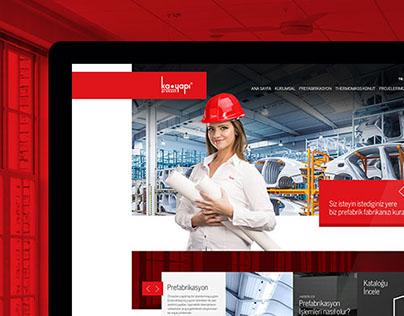 Ka Yapı Website Design