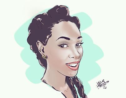 Illustration | Digital Painting Portraits