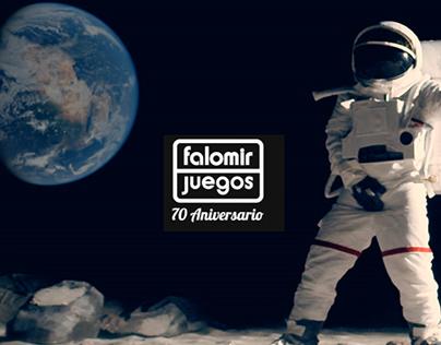 Falomir, patrocinador oficial de grandes celebraciones.