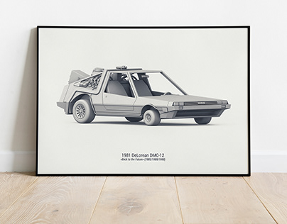 BEST MOVIE CARS EVER | POSTERS | CONCEPT DESIGN