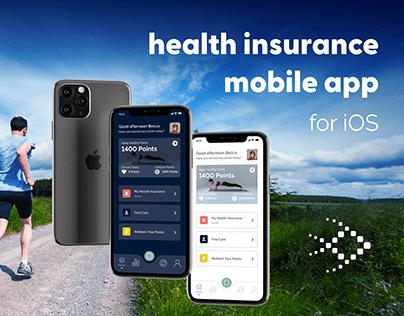 Health Insurance Company Mobile App
