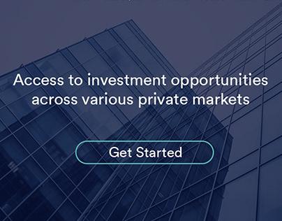 IPartners Webiste & investment Portal