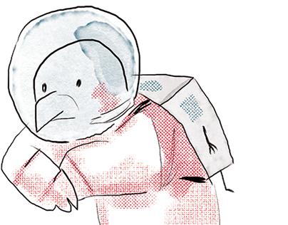 space hawk - Hayabusa/Mascot project