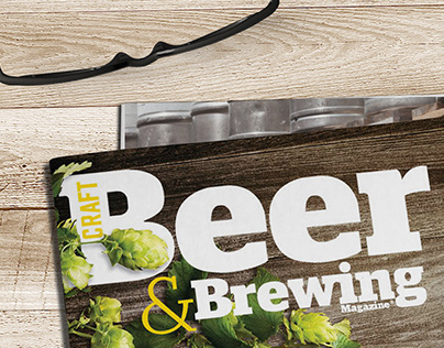 Craft Beer & Brewing Magazine Cover Redesign