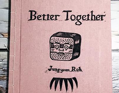 Better Together - Linocut Artist Book