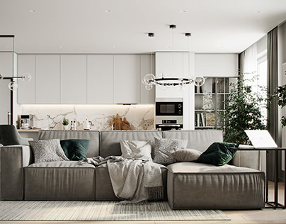 apartment in Moscow Residential complex D1