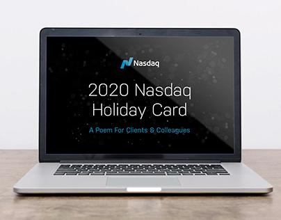 2020 Nasdaq Holiday Card