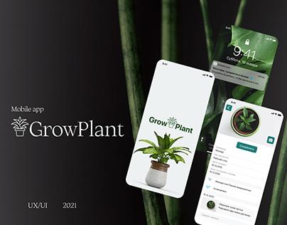 Mobile app Grow Plant