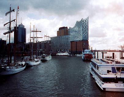 Hamburg ten hours on 35mm film