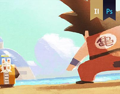 Dragon Ball fanart