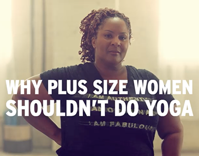 Penningtons - Why plus size women shouldn't do yoga