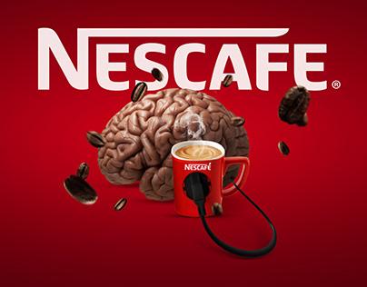 Nescafe Ad Design