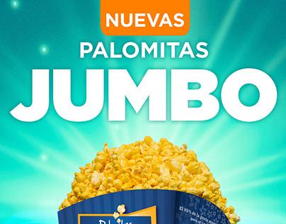 Palomitas Cinépolis. Tamaño Jumbo