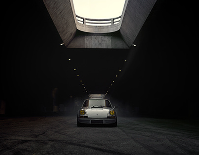 """Porsche 911 """"The Grey Ghost"""""""