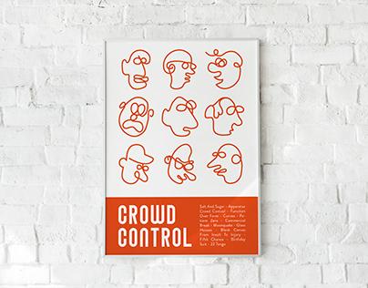 Crowd Control - Album Art & Poster