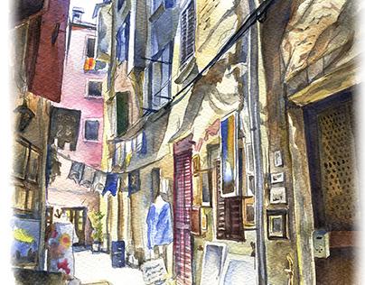 Rovin's street in july