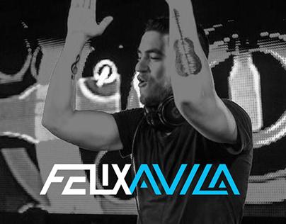 Dj Felix Ávila Brand Concept