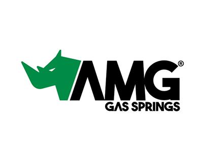 Amg Gas Springs Logo Design