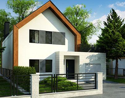 Z424 - gotowy projekt domu