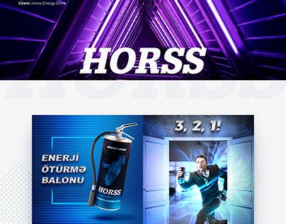 Horss Energy Drink SMM
