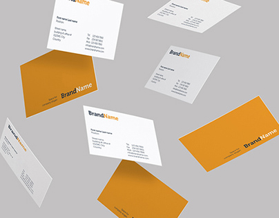 Business cards Mock-Ups & Templates